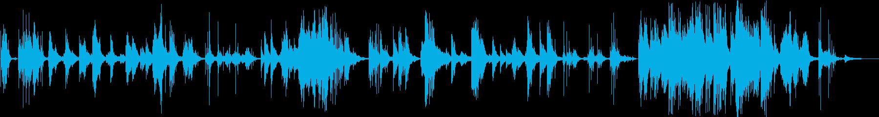 新世界より即興ピアノによるラブヒーリングの再生済みの波形