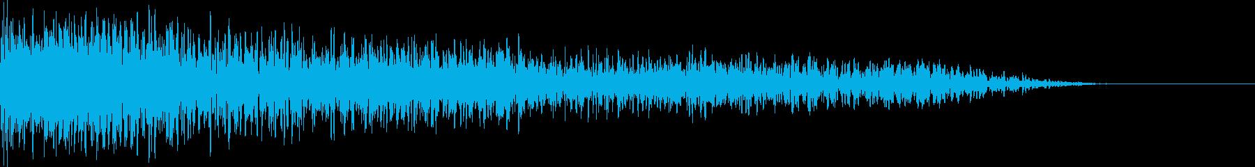 ドキュメンタリー インパクト転換音 の再生済みの波形