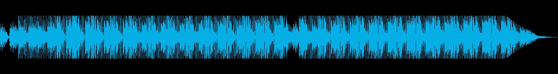 浮遊感のあるチルウェイブディスコビートの再生済みの波形