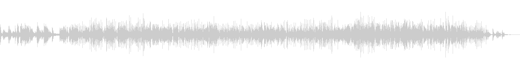 2台のピアノによる癒しの音楽「SoLa」の未再生の波形