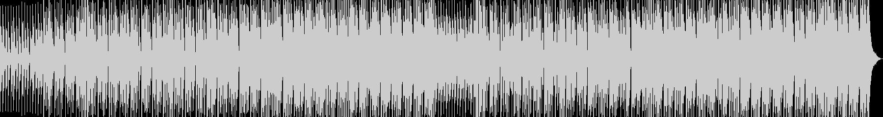 淡々と進むデジタルロックの未再生の波形