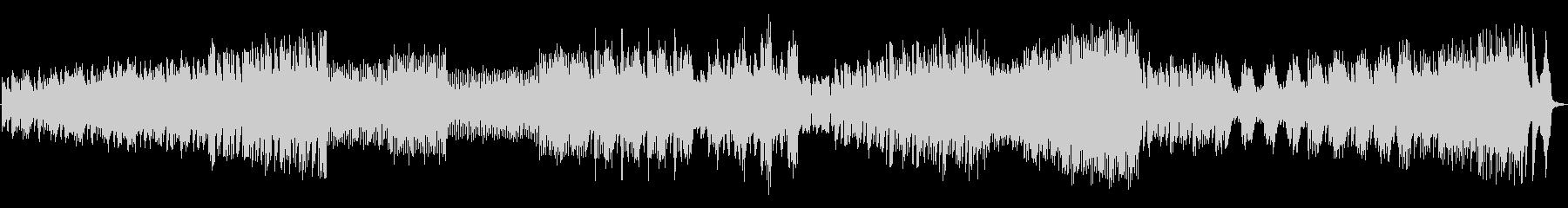 ピアノの変拍子の未再生の波形