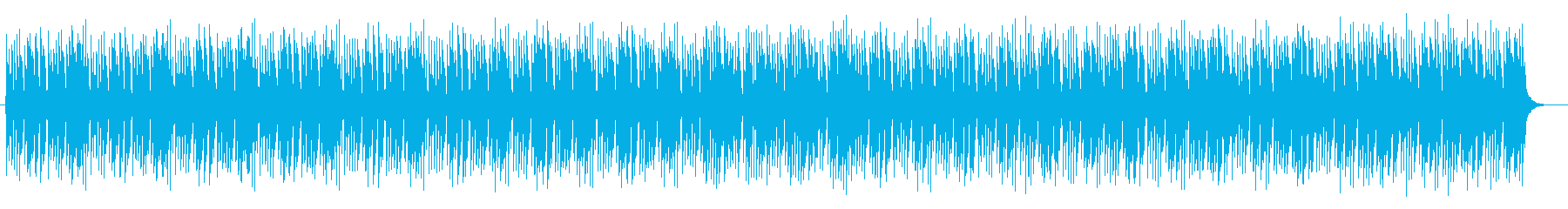 軽やかで奇麗なシンセサイザーサウンドの再生済みの波形