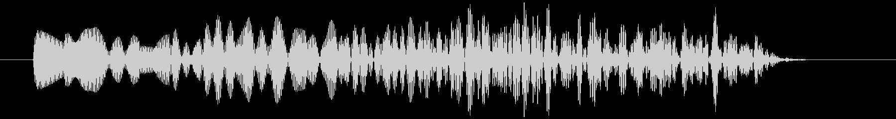 アナログFX 5の未再生の波形