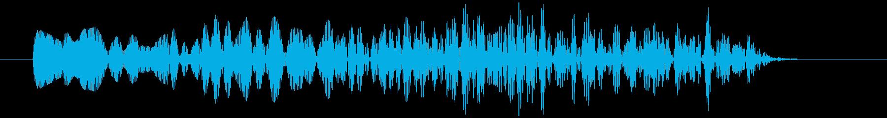 アナログFX 5の再生済みの波形