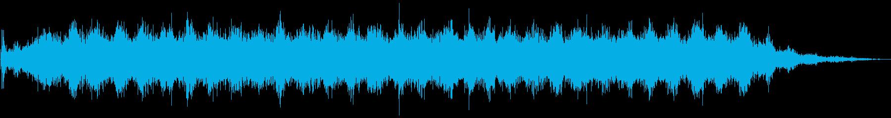 ヴイーン(料理ミキサーの音)の再生済みの波形