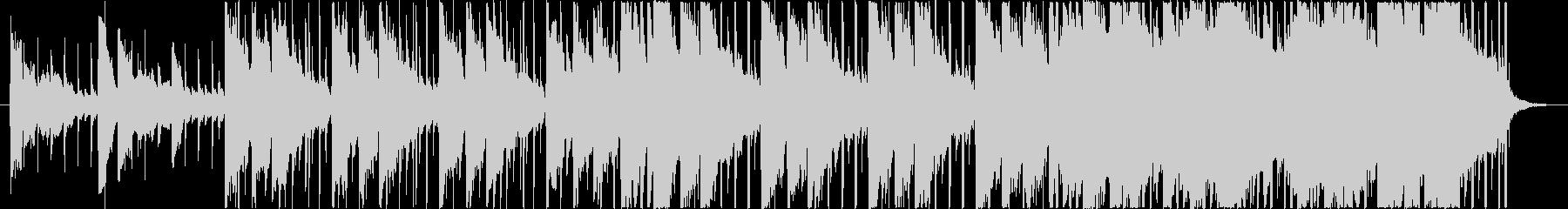 反復コード・ドキュメント映像向けBGMの未再生の波形