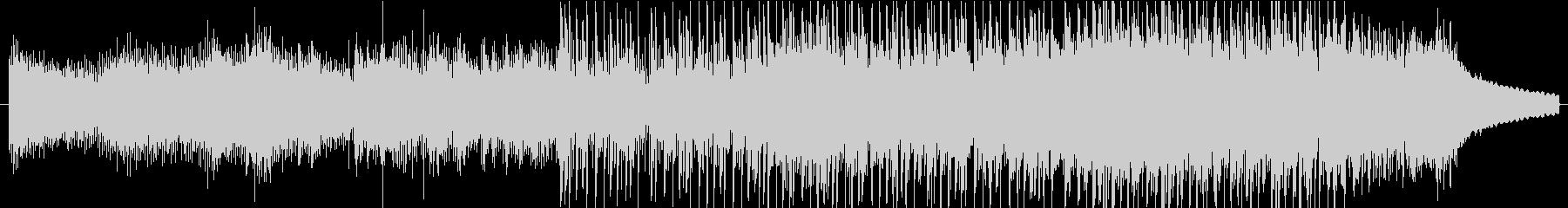 爽やかで不思議なシンセアルペジオのBGMの未再生の波形