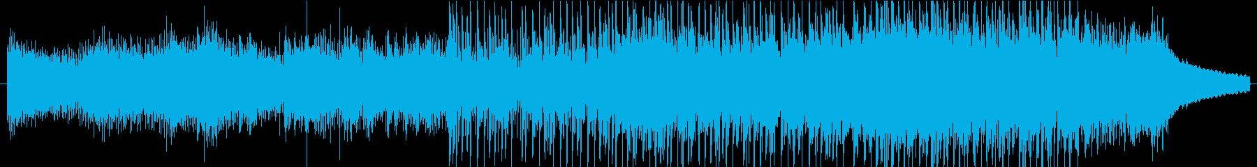 爽やかで不思議なシンセアルペジオのBGMの再生済みの波形