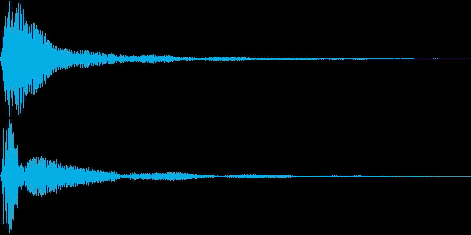 Bon! ボンっとシンプルなアイキャッチの再生済みの波形