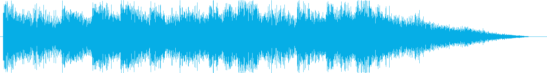 Express a fun feeling with sound logo and synth's reproduced waveform