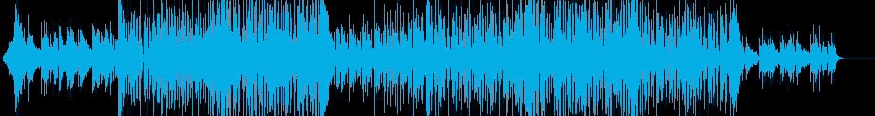 ◆オシャレな爽やか系Futurebassの再生済みの波形