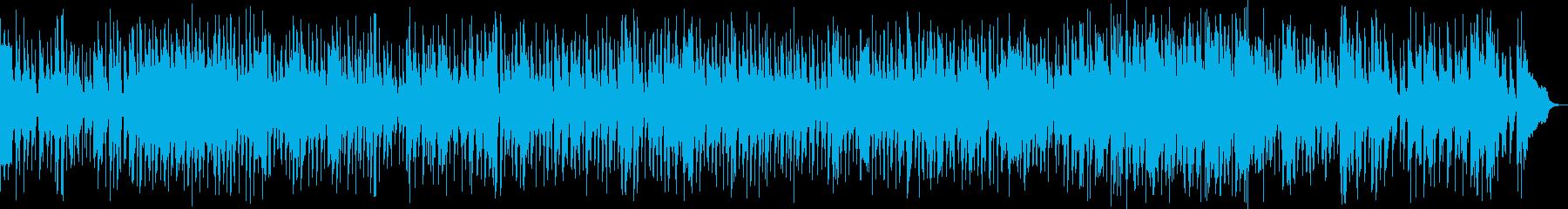 軽快、妖しげに奏でるファスト・ジャズ の再生済みの波形