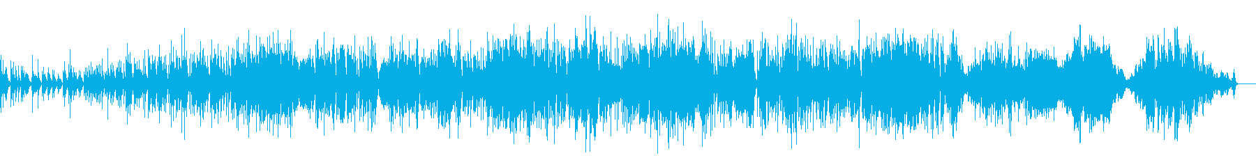 幻想的なハングドラム演奏の再生済みの波形