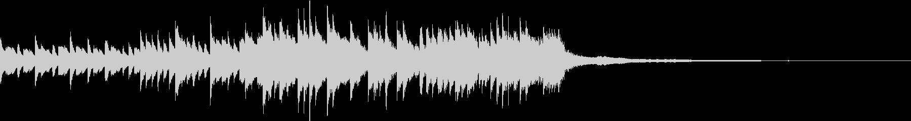 ピアノBGM30秒-幸せ、ぬくもり、感動の未再生の波形