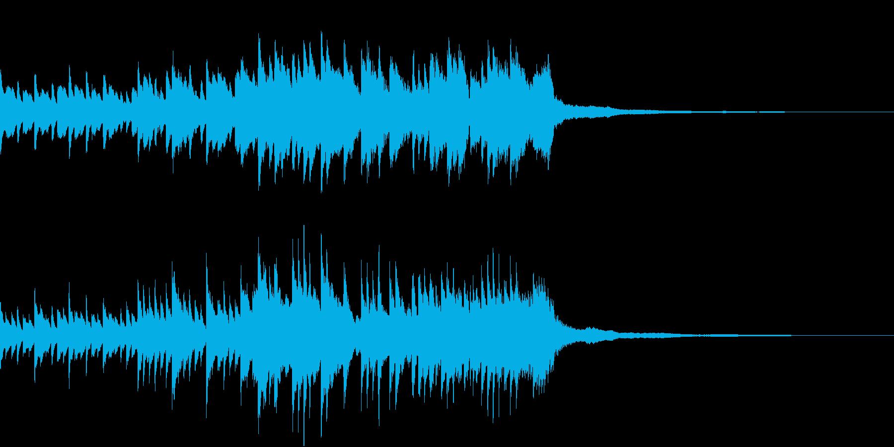 ピアノBGM30秒-幸せ、ぬくもり、感動の再生済みの波形