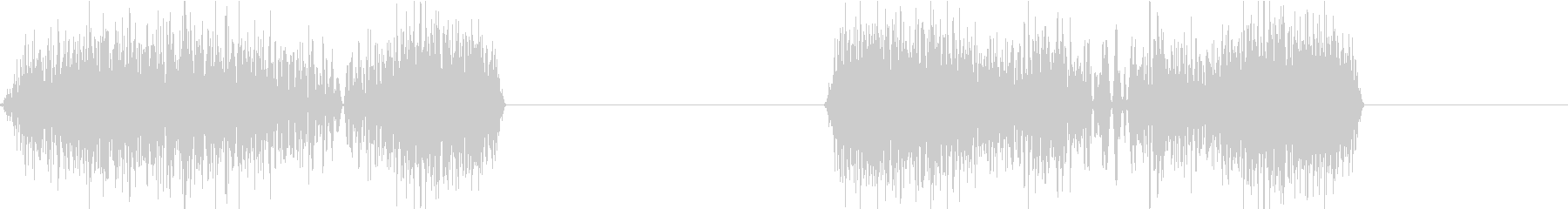 DJプレイ スクラッチ・ノイズ 108の未再生の波形
