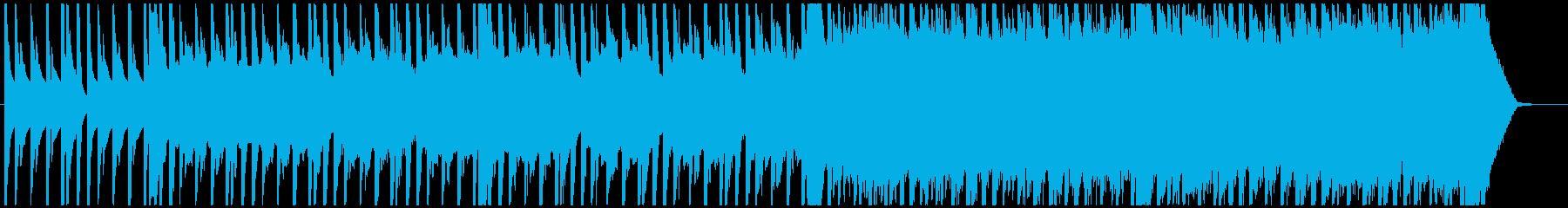 SFレトロゲーム作品をイメージしたBGMの再生済みの波形