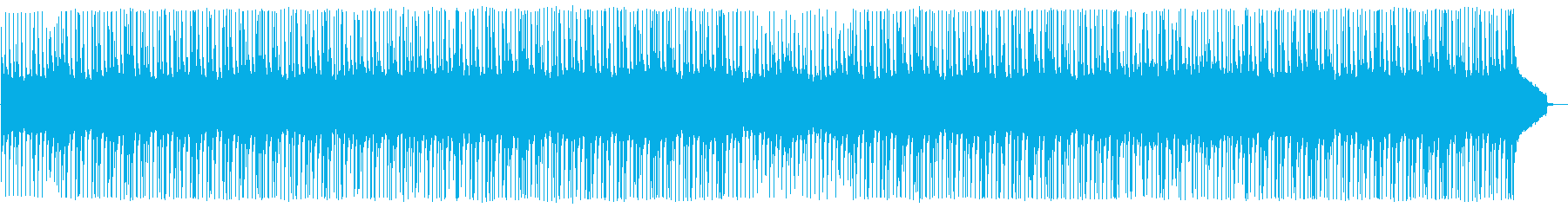 A heartwarming BGM with the image of agriculture and fields's reproduced waveform