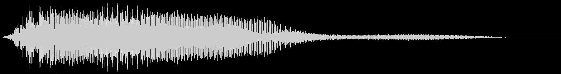 【ホラー】SFX_24 嫌な予感の未再生の波形