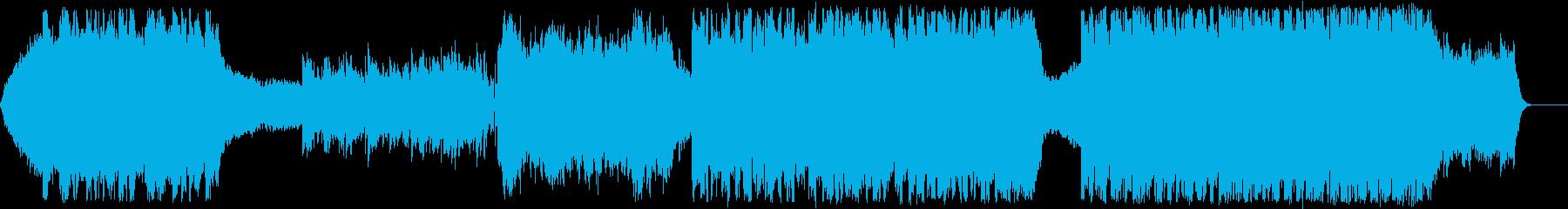 ファンタジー/壮大/オーケストラ/戦闘の再生済みの波形
