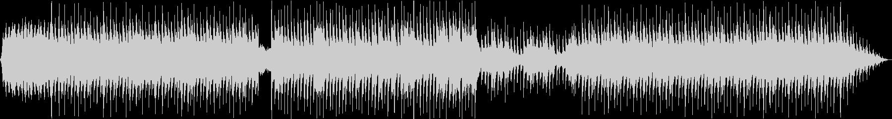 Lo-fi ピアノ vlog カフェの未再生の波形