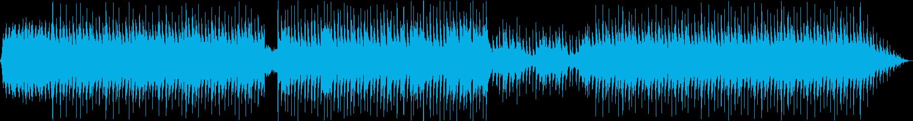 Lo-fi ピアノ vlog カフェの再生済みの波形