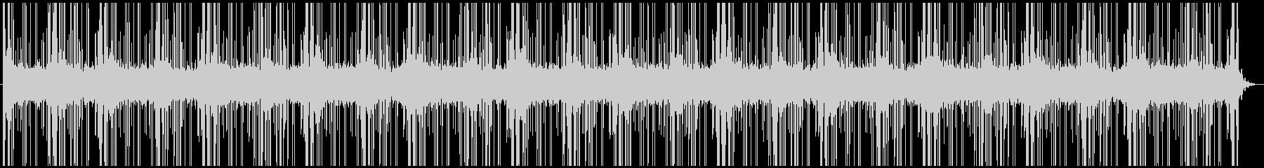 シンプルでオトナな雰囲気のあるBGMの未再生の波形