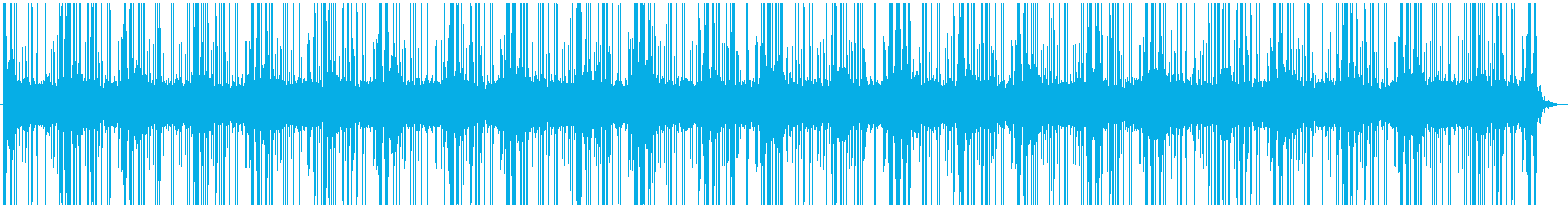シンプルでオトナな雰囲気のあるBGMの再生済みの波形