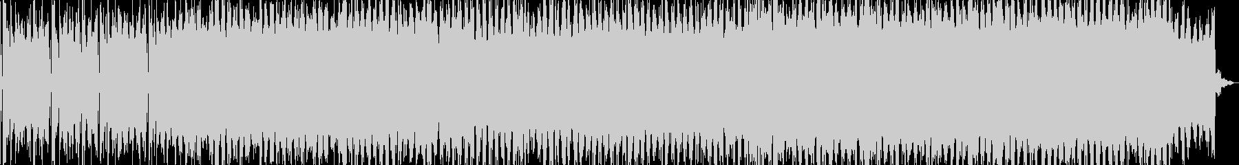 ノリのいいEDM ROCKの未再生の波形