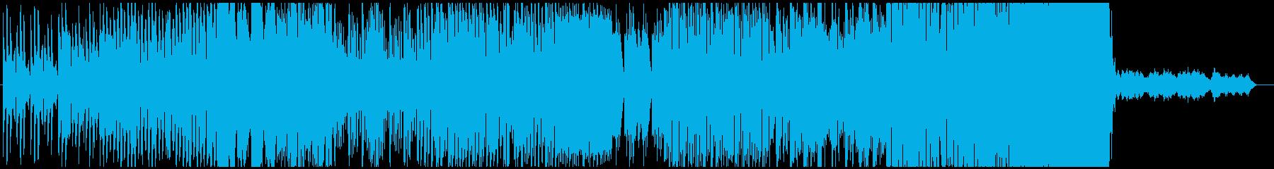 台北の空気を詰め込んだBGMの再生済みの波形