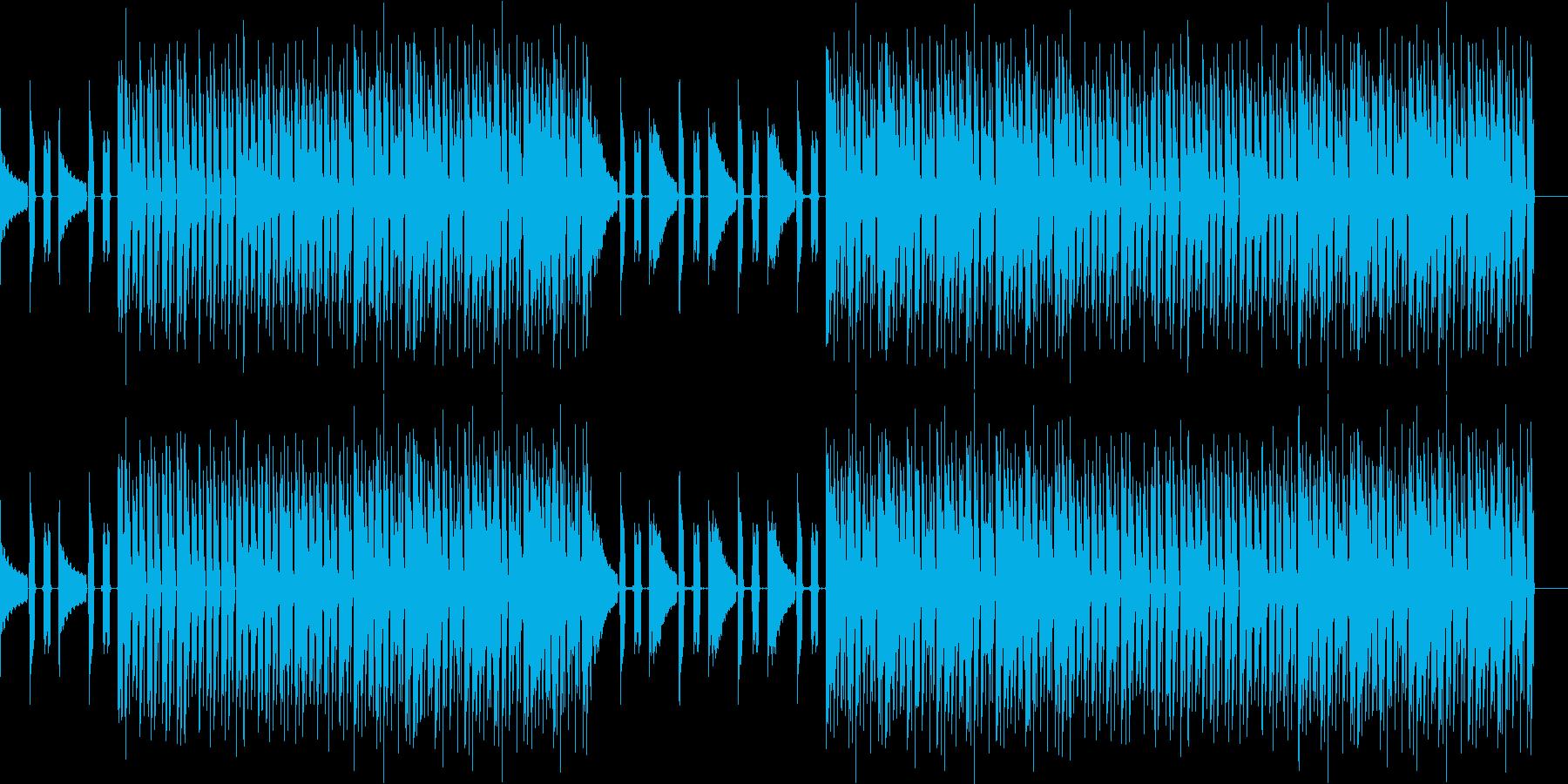 おしゃれ・低音重視・EDM・ベース17の再生済みの波形