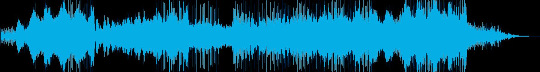 夏休みが懐かしく思えるヒーリングBGMの再生済みの波形