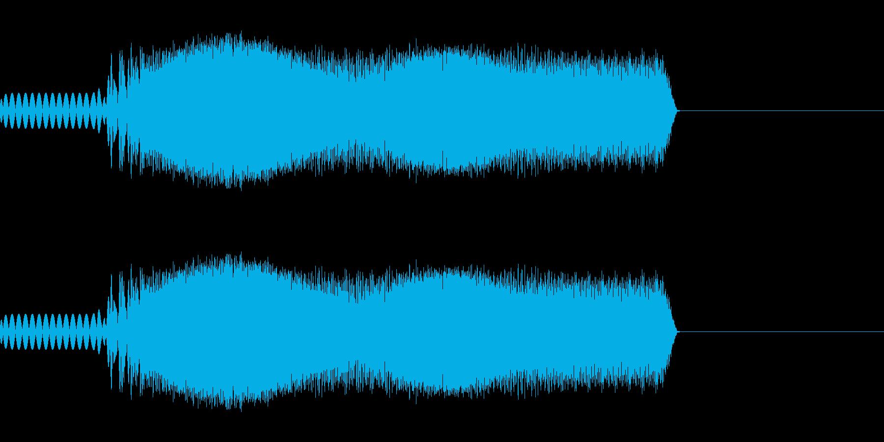 ヴァうわう(ロボットがしゃべる)の再生済みの波形