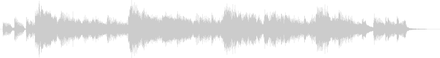 Western country style country jingle's unreproduced waveform