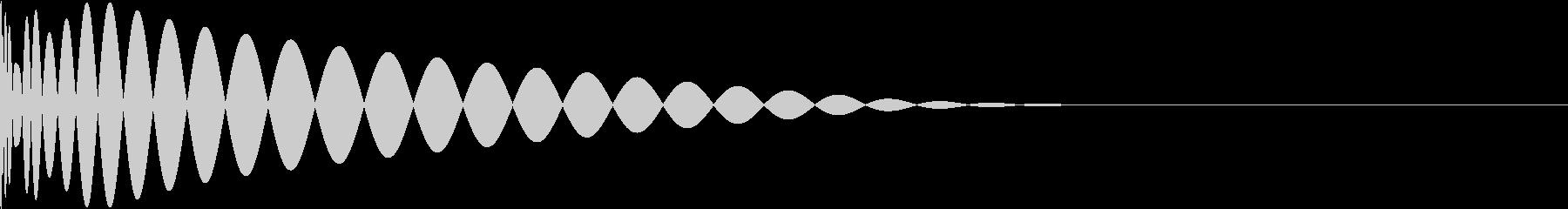 DTM Kick 69 オリジナル音源の未再生の波形