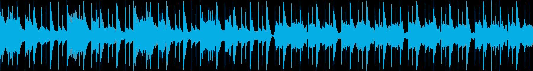 【短ループ】幻想的で妖しい映像用BGMの再生済みの波形