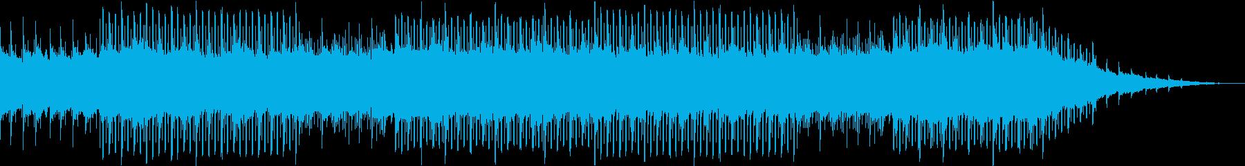 前向きになれるポジティブなEDMの再生済みの波形