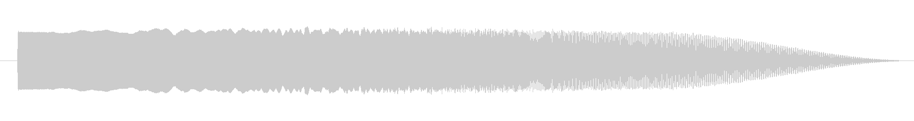 素材 シズルサインドロップ02の未再生の波形