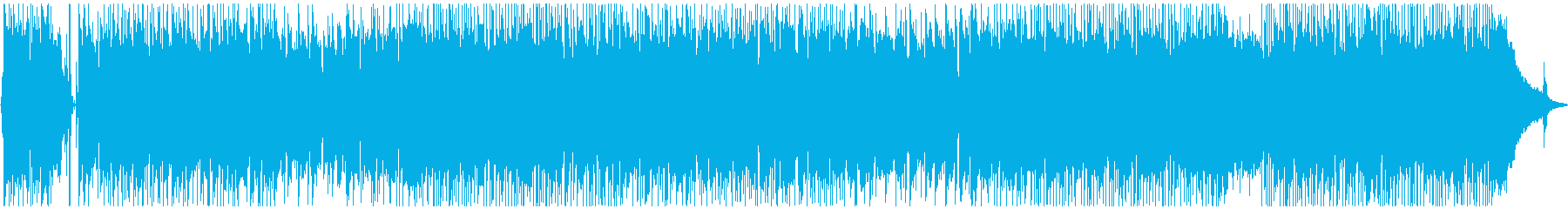 切ない雰囲気のフュージョンの再生済みの波形