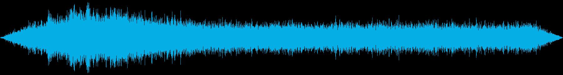 東京地下鉄駅の電車到着音の再生済みの波形