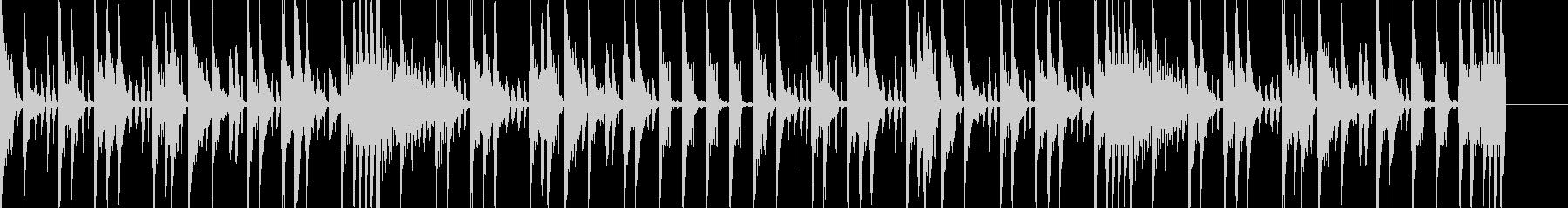 ボイパ 勢いのあるBGMの未再生の波形