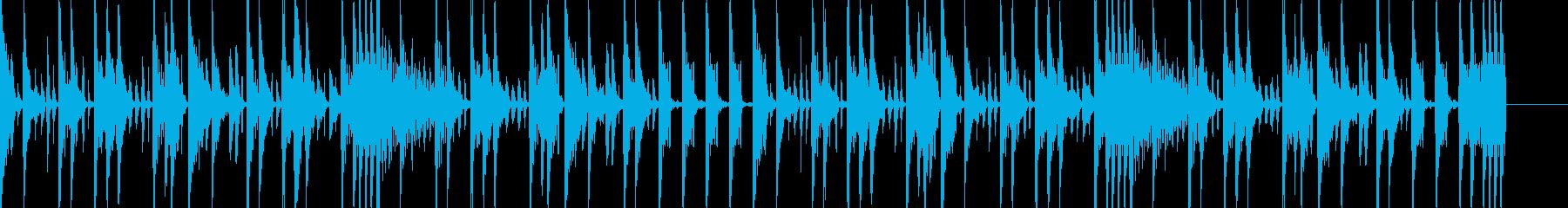 ボイパ 勢いのあるBGMの再生済みの波形