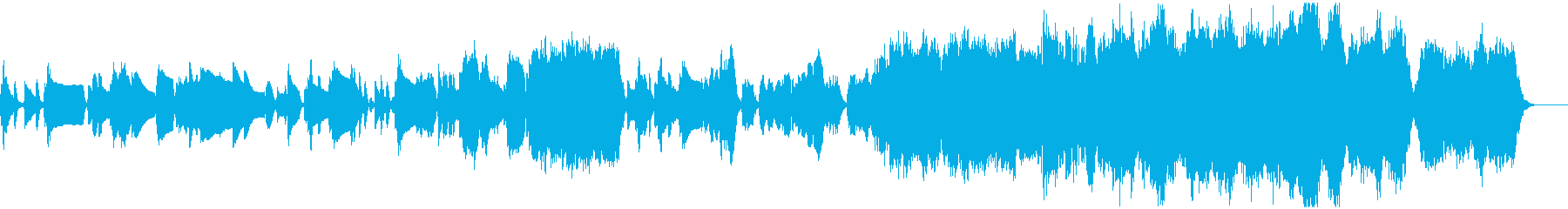 クラシックの曲ですの再生済みの波形