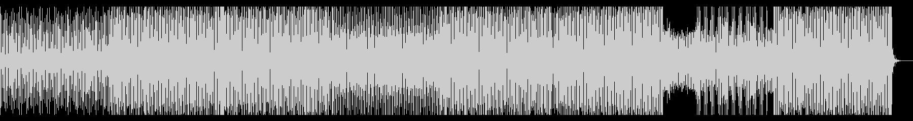 疾走感のあるピアノEDMの未再生の波形