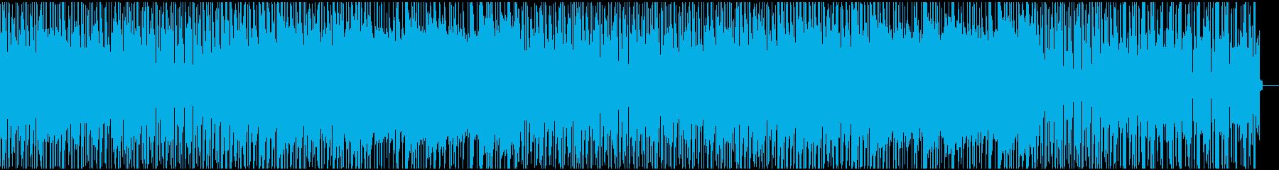 かすれたピアノが美しいchillHopの再生済みの波形