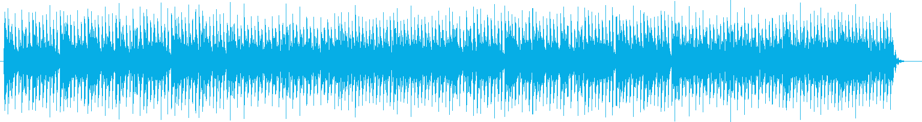 爽快でおしゃれなシンセサイザーテクノの再生済みの波形