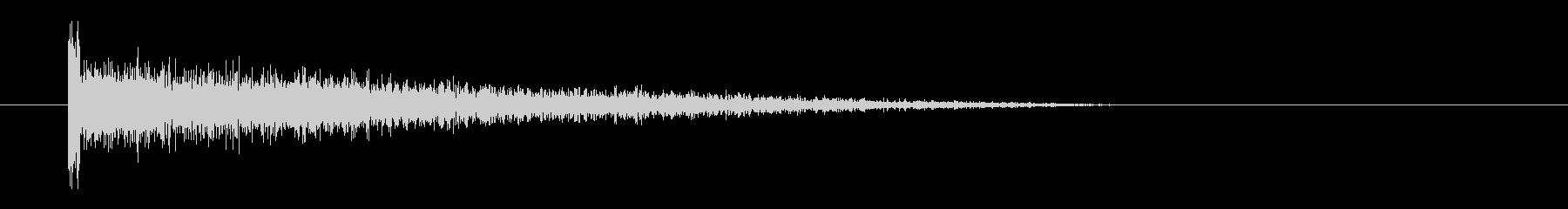 レーザー音-63-3の未再生の波形