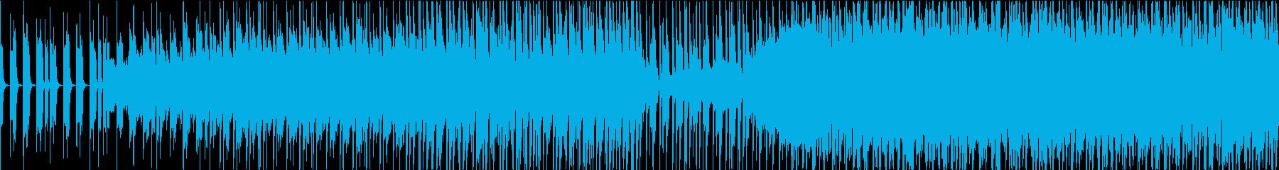 カワイイ系、サワヤカなシンセポップBGMの再生済みの波形
