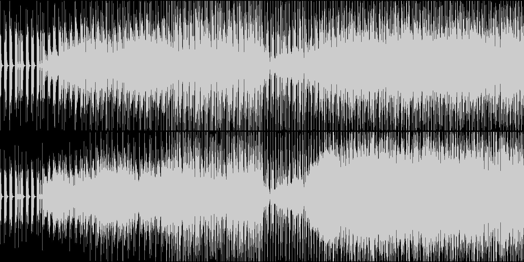 カワイイ系、サワヤカなシンセポップBGMの未再生の波形